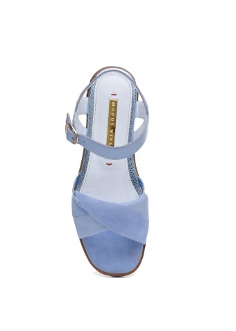 511101  блакитні сандалі