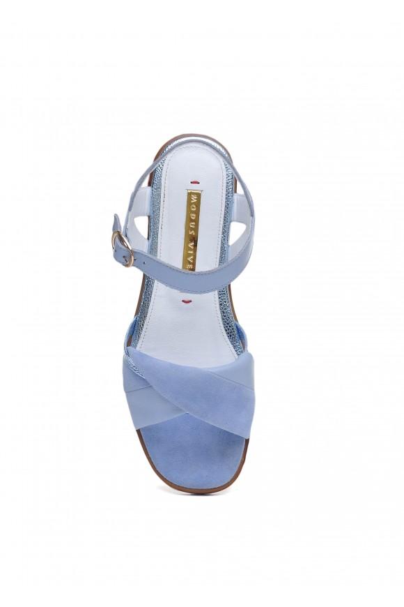 511101 Голубые сандалии