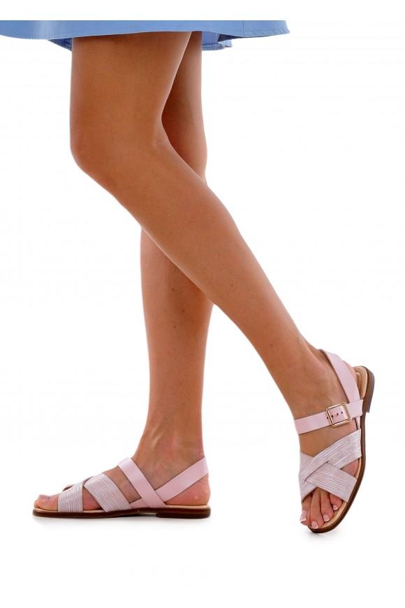 511901 Кожаные сандалии