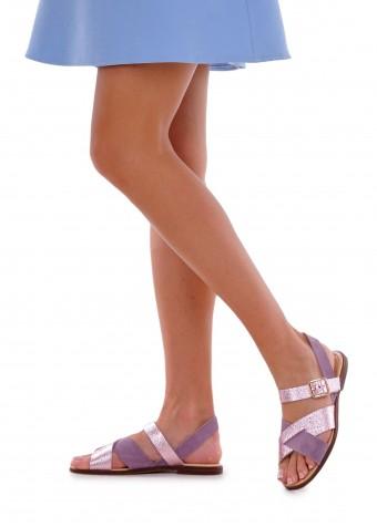 511911  Шкіряні сандалі