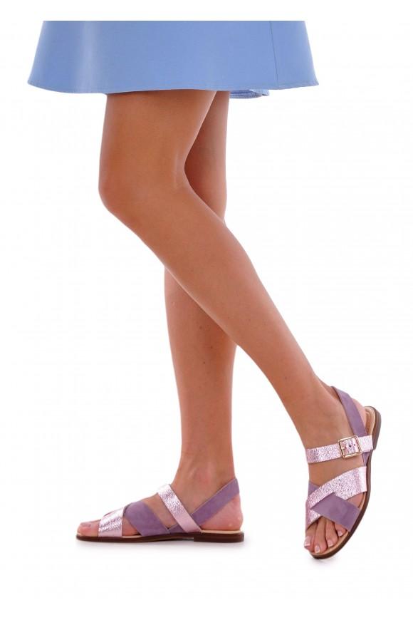 511911 Кожаные сандалии