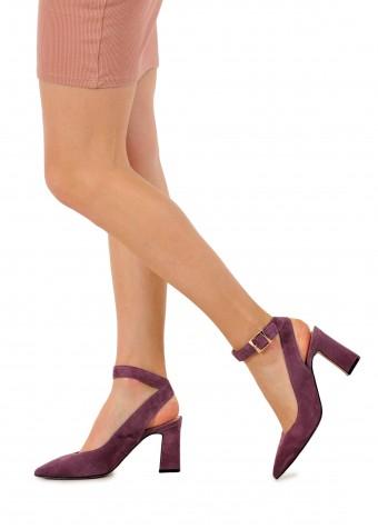 810321 Замшеві туфлі