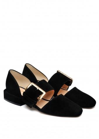 887121 Замшевые туфли