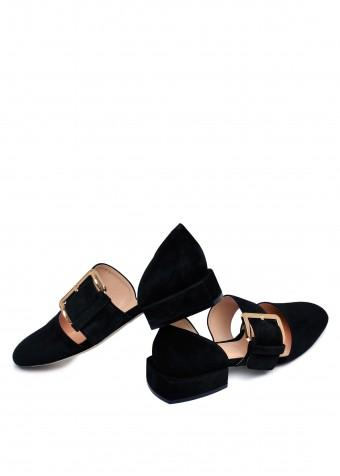 887121 Замшеві туфлі