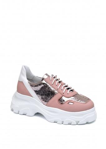 568604 Кожаные кроссовки