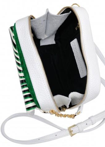 10521 Кожаная летняя сумка