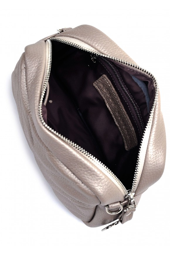 11131 Кожаная сумка с перламутром