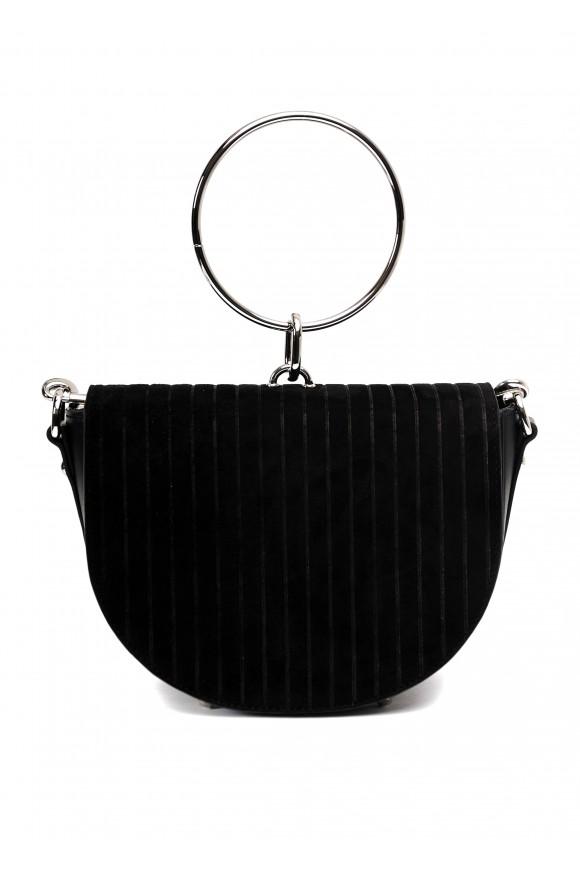 11161 Черная кожаная сумка