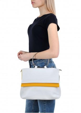 11171 Кожаная летняя сумка