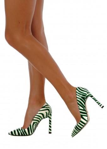 158321 Яскраві шкіряні туфлі