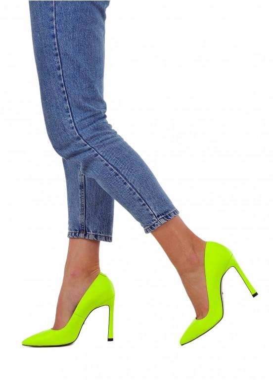 158331 Яркие неоновые туфли