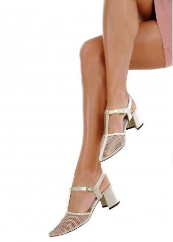 718321 Літні бежеві туфлі