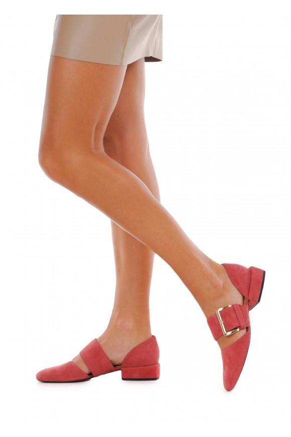 887101 Замшевые туфли