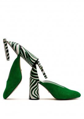 894024 Стильные комбинированные туфли