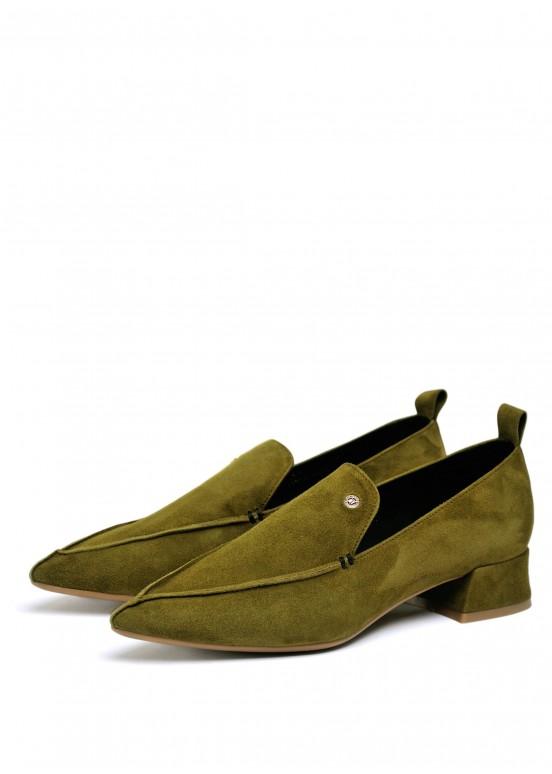 393032 Стильные замшевые туфли