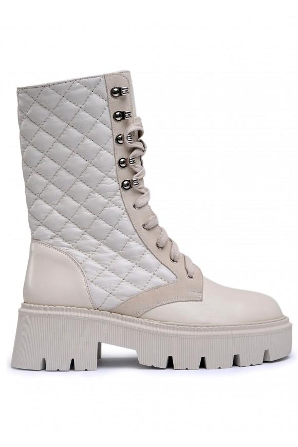 192001 Ботинки plaid
