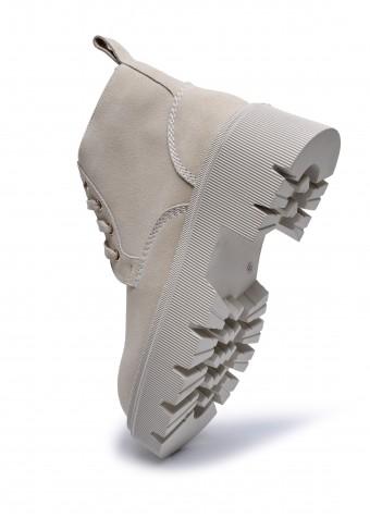 192201 Замшеві черевики grande на каучуковій підошві