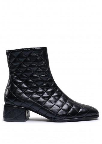 452901  Шкіряні стьобані черевики