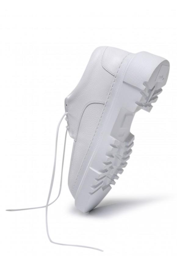 181001 Объемные туфли из натуральной кожи с облегченной подошвой