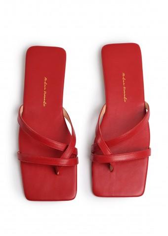 170301 Червоні кожані пантолети Pala