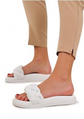 983402 Об'ємні сандалії Bubble з натуральної шкіри з полегшеною підошвою