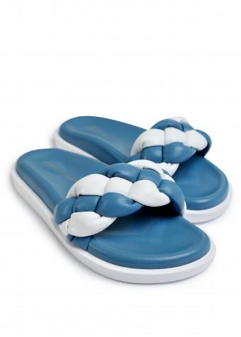 983443 Объемные сандалии Bubble из натуральной кожи с облегченной подошвой