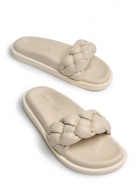983431 Объемные сандалии Bubble из натуральной кожи с облегченной подошвой