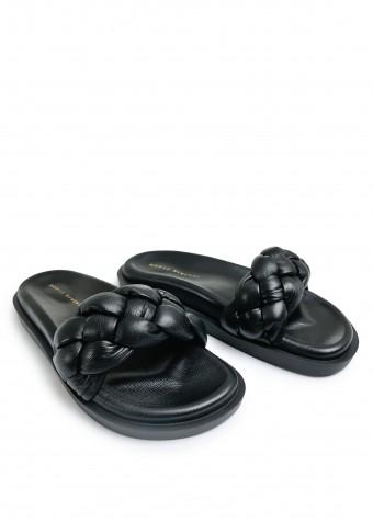 983422 Объемные сандалии Bubble из натуральной кожи с облегченной подошвой