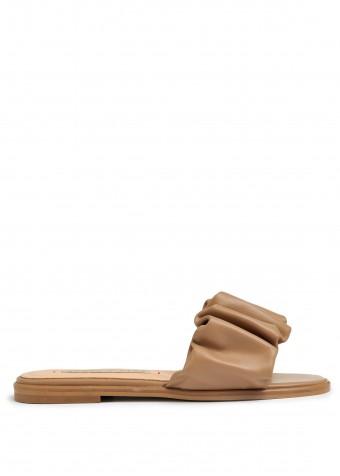 513801 Кожаные сандалии tenda