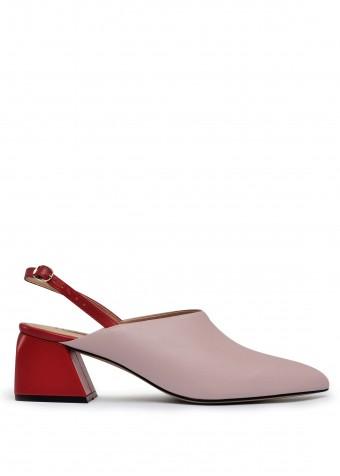 315012 Комбіновані шкіряні туфлі