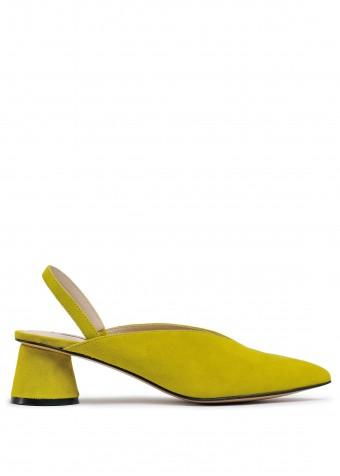 315207 Яскраві замшеві туфлі
