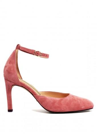 891631 Замшевые туфли-деленки