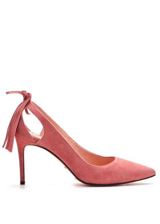 721621 Замшевые туфли