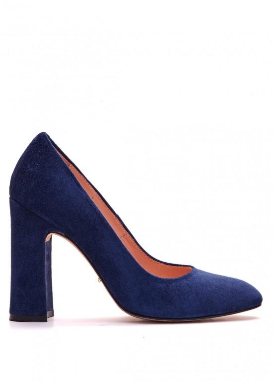 993112 Синие замшевые туфли