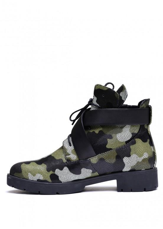 052201 Ботинки кожаные