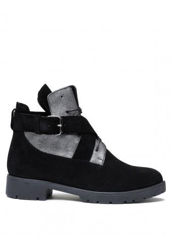 052221 Замшевые ботинки