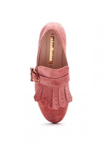715102 Замшевые туфли