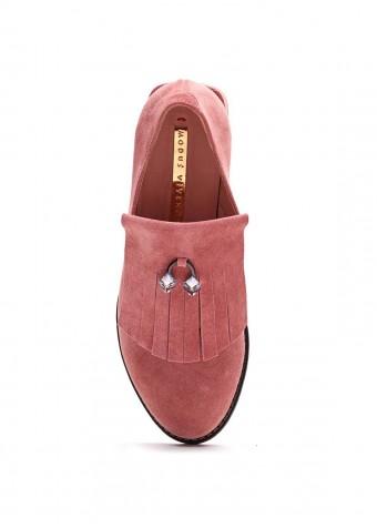 587311 Замшевые туфли