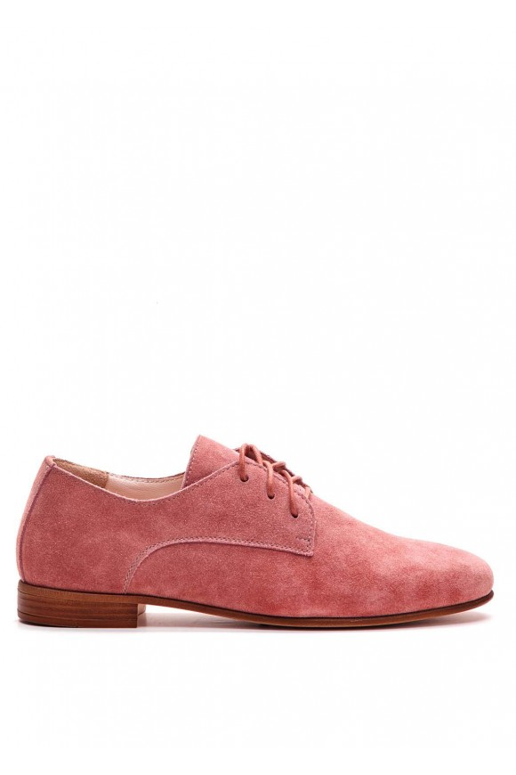 Бежеві замшеві туфлі