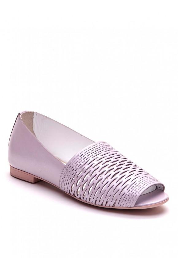 Лиловые туфли