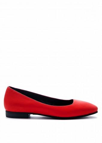 220021 Червоні туфлі низький хід