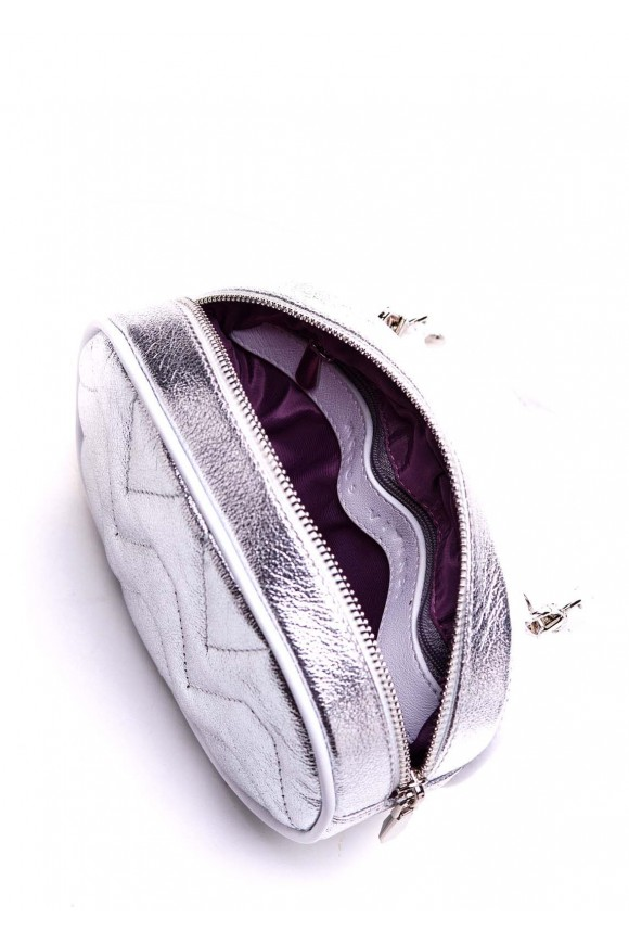 Серебряная мини-сумка