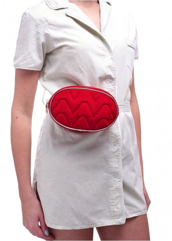 92301 Ременная сумка красная