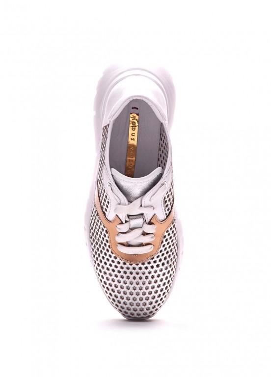 563327 Кожаные кроссовки