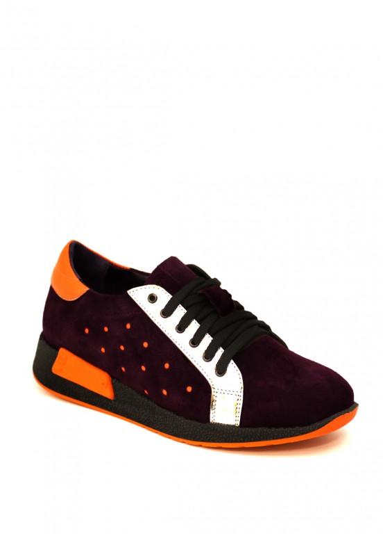 711142 Лиловые кроссовки