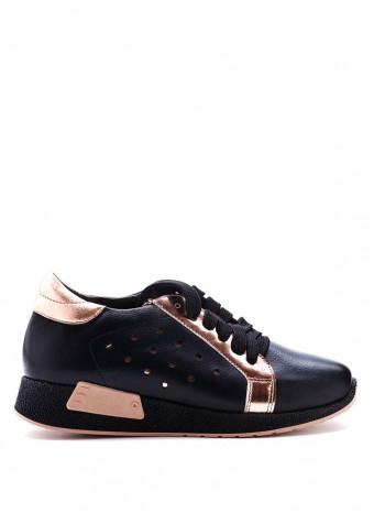 711113 Кожаные кроссовки