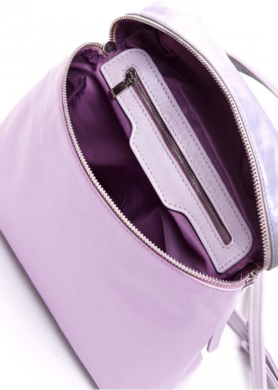 95501 Розовая кожаная сумка