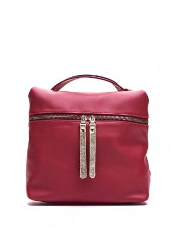 95502 Бордова шкіряна сумка