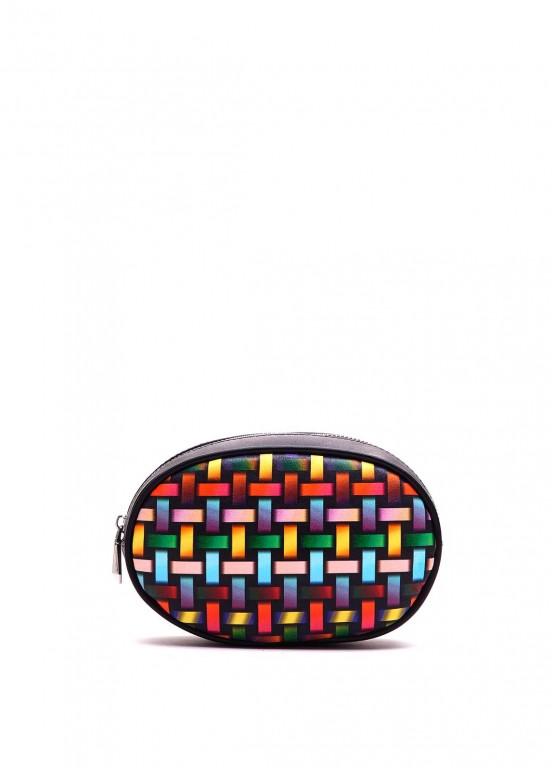 92303 Кожаная ременная сумка