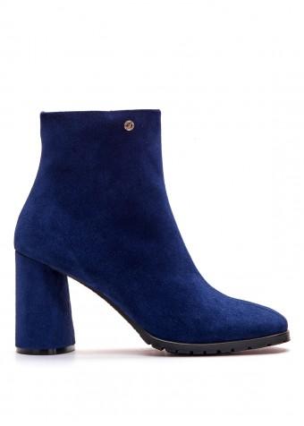 337041 Замшеві сині черевики